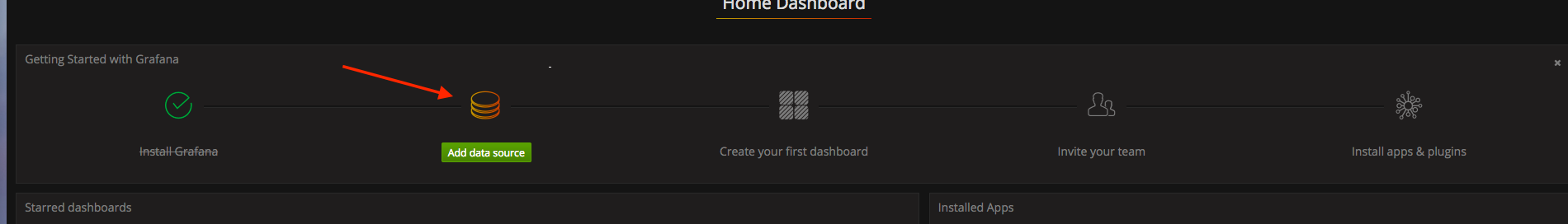 Step 1: Add Data Source