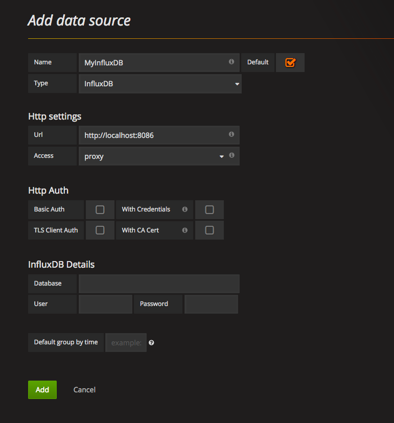 Step 2: Configure InfluxDB