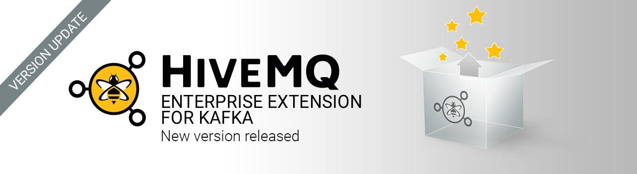 HiveMQ Enterprise Extension for Kafka 1.1.1 released
