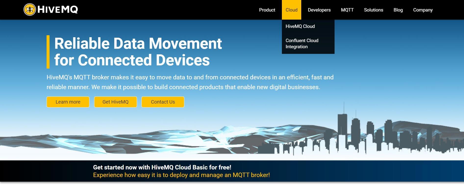 HiveMQ Homepage