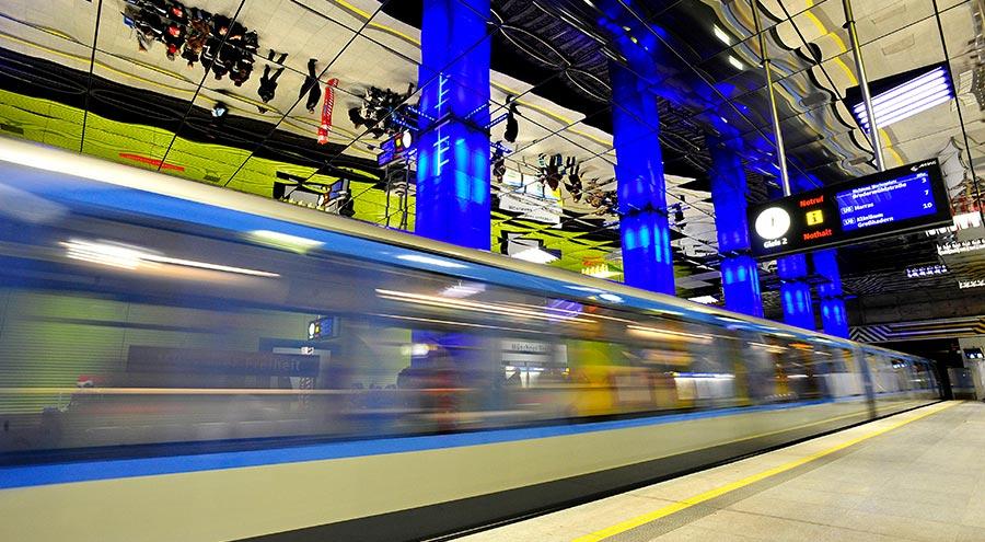 SWM station Muenchener Freiheit
