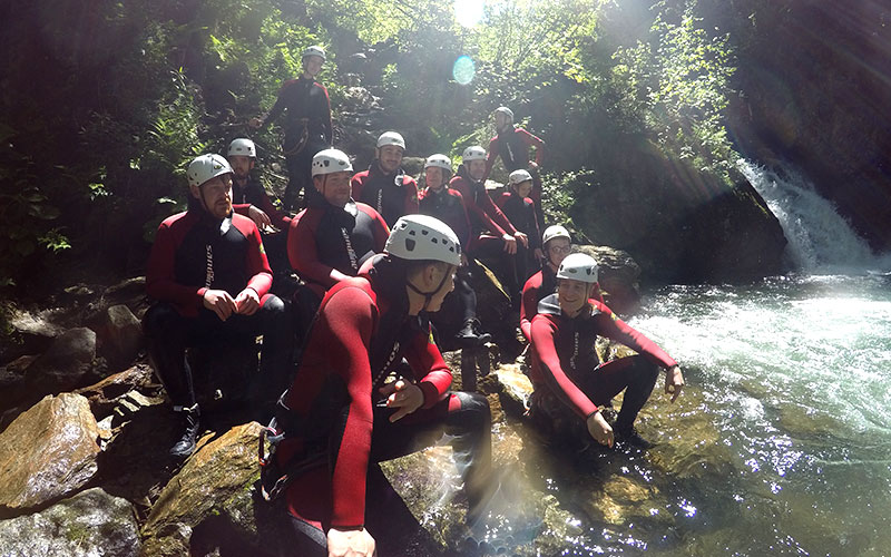 HiveMQ Team Event Canyoning